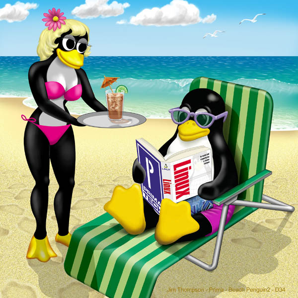 Beach Penguin